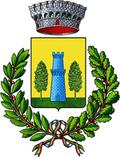 Stemma Comune di Castello di Cisterna
