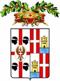 Stemma Città metropolitana di Cagliari